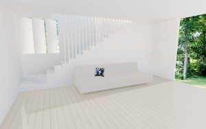 minimal beach house design sunshine beach house renovation. designed with flexibilty in mind for future additions.